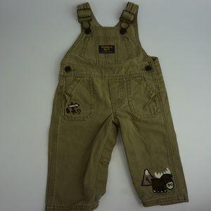 Oshkosh Bgosh Boys Jeans Denim Jumpsuit Jumper